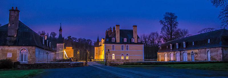 Photo du Monument Historique Château de Dobert situé à Avoise