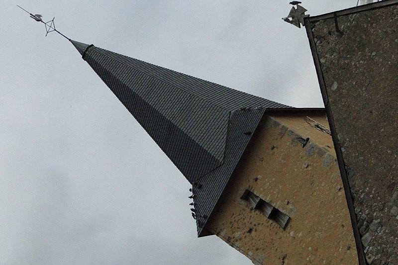 Photo du Monument Historique Eglise paroissiale Saint-Hilaire situé à Oizé