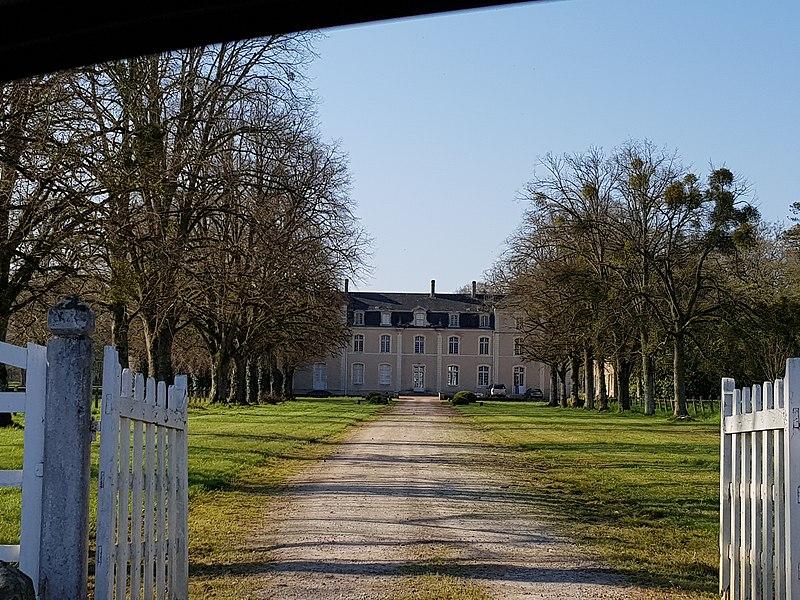 Photo du Monument Historique Château d'Eporcé situé à La Quinte