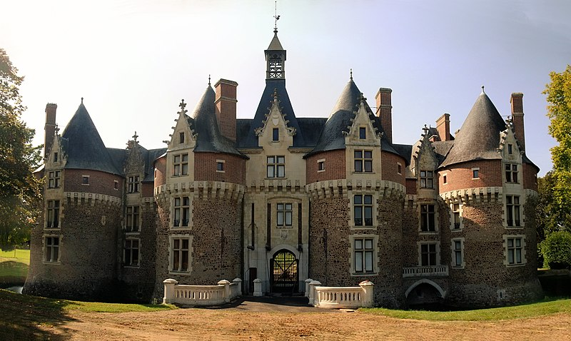 Photo du Monument Historique Château de Bonnetable (également sur commune de Briosne-les-Sables) situé à Bonnétable