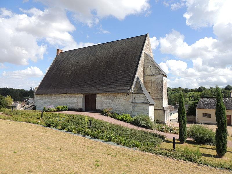 Photo du Monument Historique Ancienne grange dîmière de la Merrie situé à Chenu