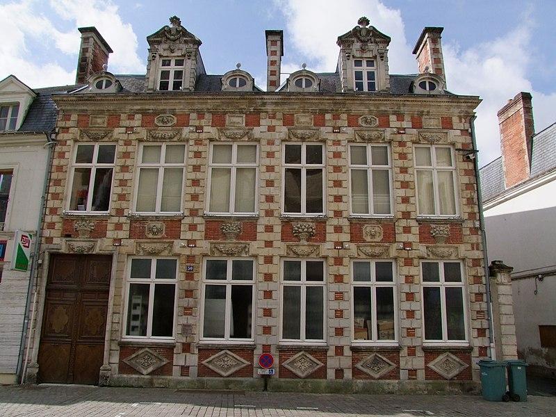Photo du Monument Historique Hôtel Courtin de Torsay situé à Ferté-Bernard (La)