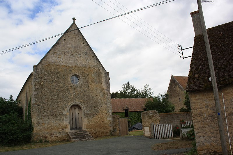 Photo du Monument Historique Prieuré Saint-Symphorien situé à Marolles-les-Braults