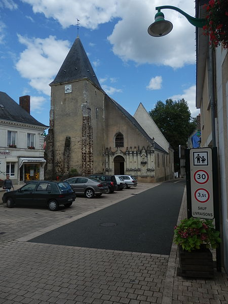 Photo du Monument Historique Eglise situé à Saint-Vincent-du-Lorouër