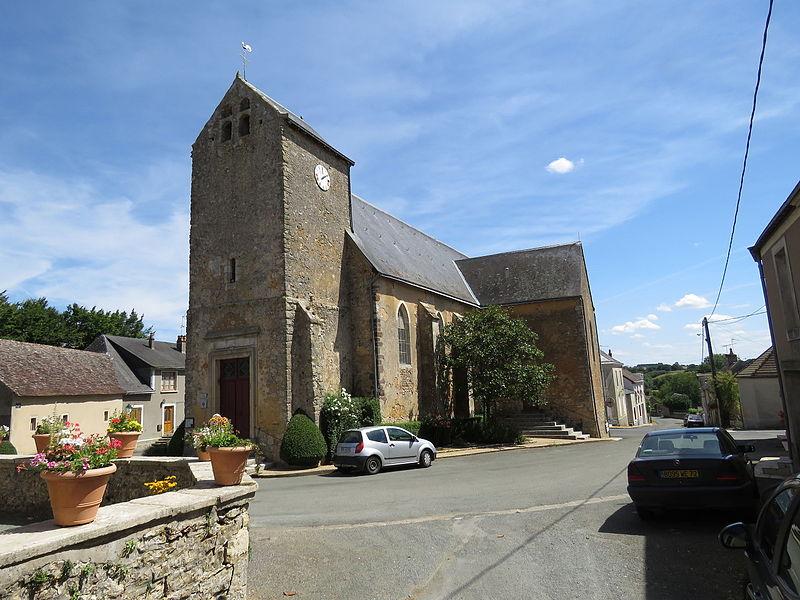 Photo du Monument Historique Eglise Saint-Fraimbault et Saint-Antoine situé à Epineu-le-Chevreuil