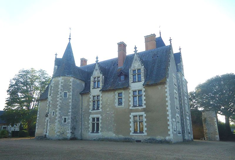 Photo du Monument Historique Château de Lorrière situé à Dissé-sous-le-Lude
