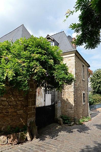 Photo du Monument Historique Hôtel Richer de la Jousserie situé à Le Mans