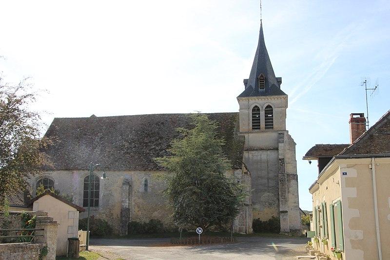 Photo du Monument Historique Eglise Saint-Pierre-et-Saint-Paul situé à Moncé-en-Saosnois