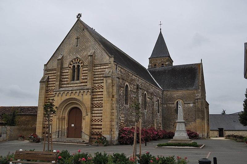 Photo du Monument Historique Eglise paroissiale Saint-Pierre situé à Le Bailleul