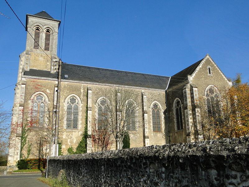 Photo du Monument Historique Eglise Sainte-Colombe situé à La Flèche