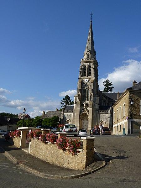 Photo du Monument Historique Eglise Notre-Dame situé à Montfort-le-Gesnois
