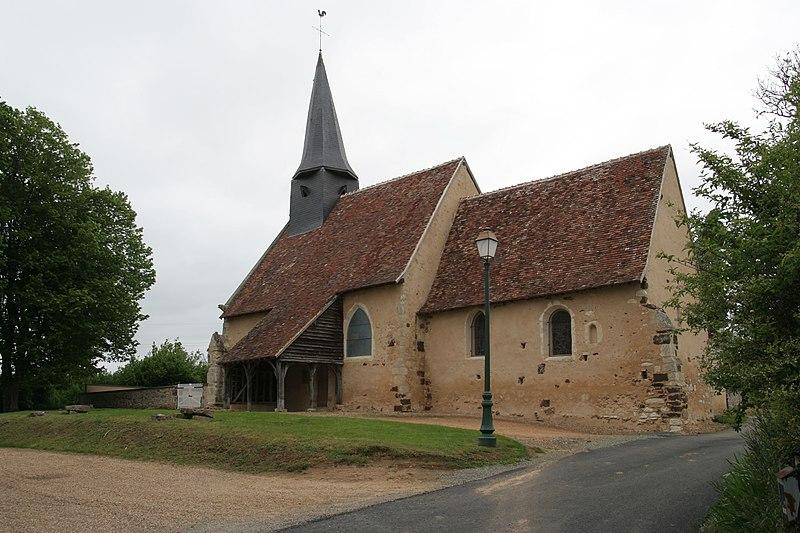 Photo du Monument Historique Eglise Saint-Martin situé à Saint-Martin-des-Monts