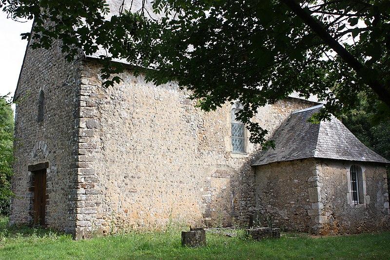 Photo du Monument Historique Église Saint-Maximin de Montreuil situé à Joué-en-Charnie