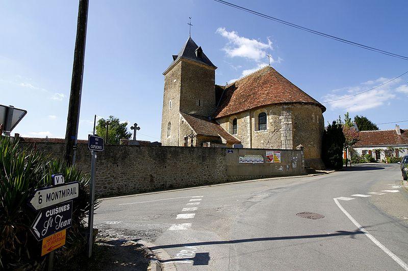 Photo du Monument Historique Église Saint-Jean-Baptiste des Echelles situé à Saint-Jean-des-Echelles