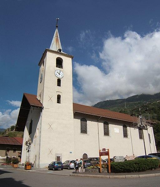 Photo du Monument Historique Eglise paroissiale situé à Aime