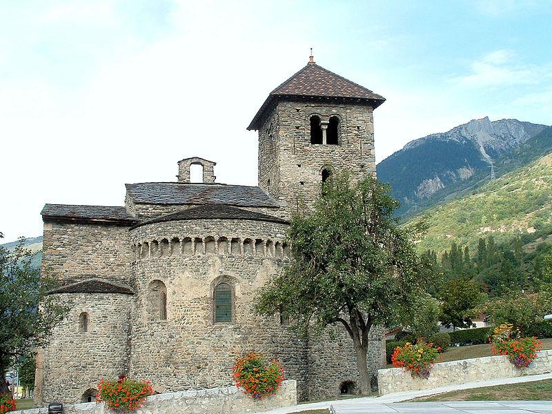 Photo du Monument Historique Basilique Saint-Martin situé à Aime