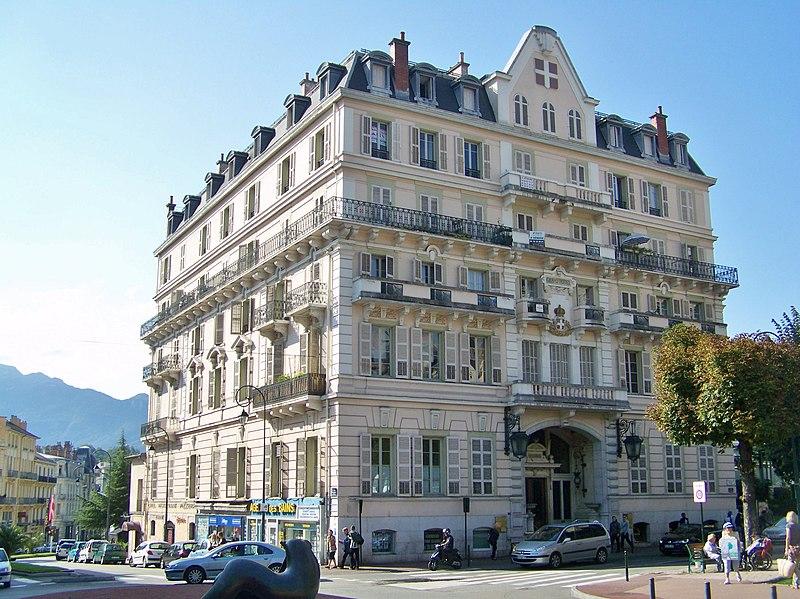 Photo du Monument Historique Grand Hôtel situé à Aix-les-Bains