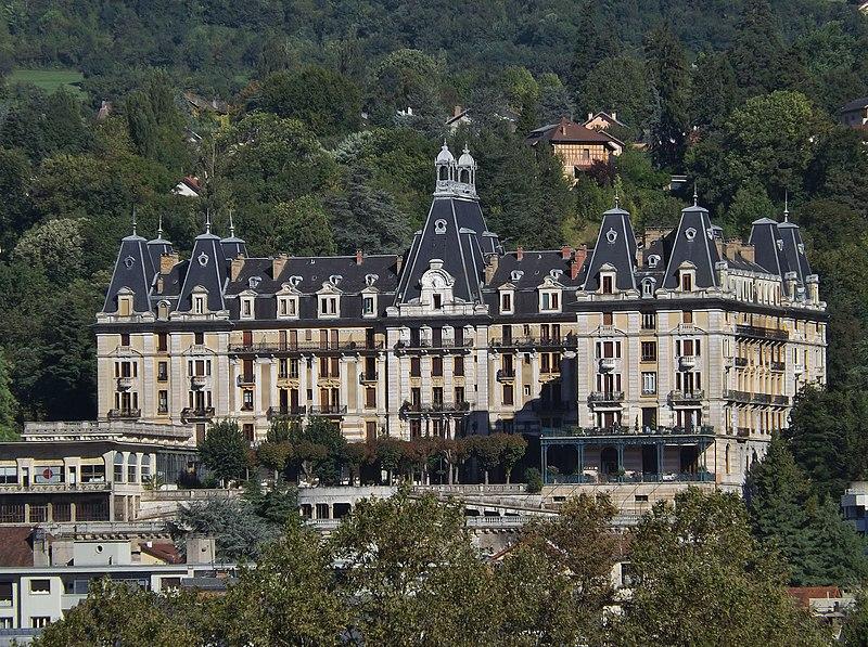 Photo du Monument Historique Hôtel Bernascon situé à Aix-les-Bains