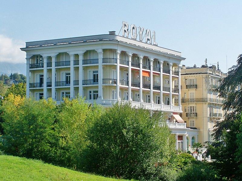 Photo du Monument Historique Ancien Hôtel Royal ou Palace Royal situé à Aix-les-Bains