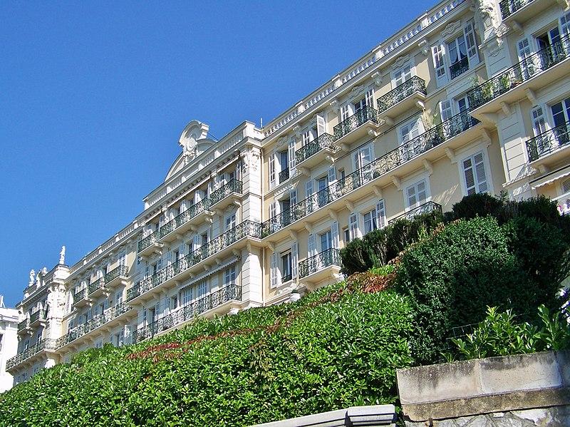Photo du Monument Historique Ancien Hôtel Splendide ou Palace Splendide situé à Aix-les-Bains