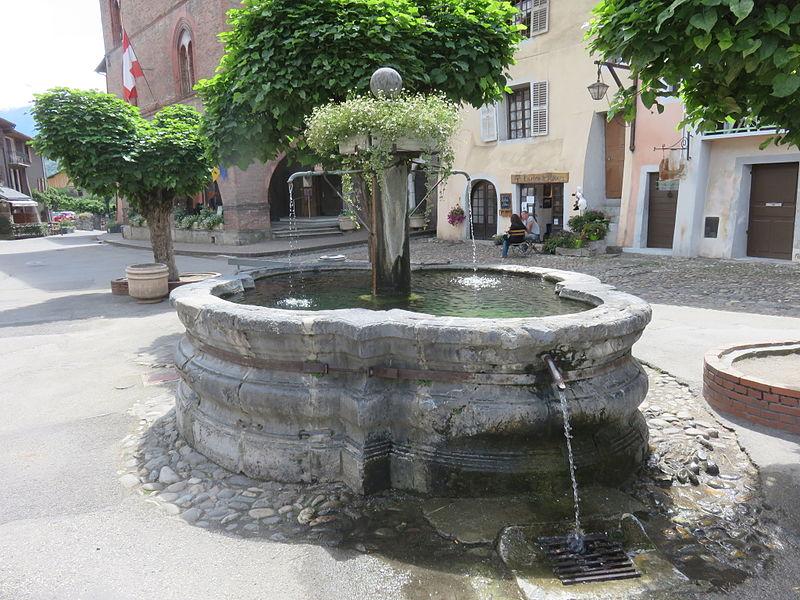 Photo du Monument Historique Fontaine situé à Albertville