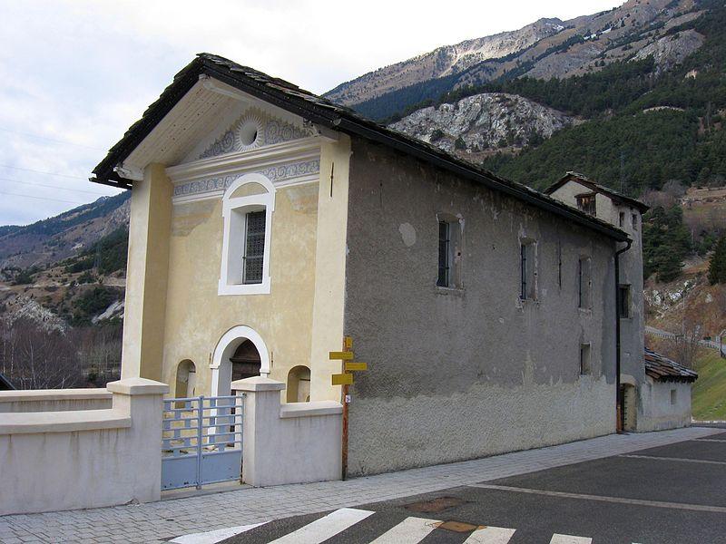Photo du Monument Historique Chapelle Notre-Dame-des-Neiges situé à Avrieux