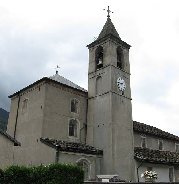 Photo du Monument Historique Eglise Saint-Thomas-Becket situé à Avrieux