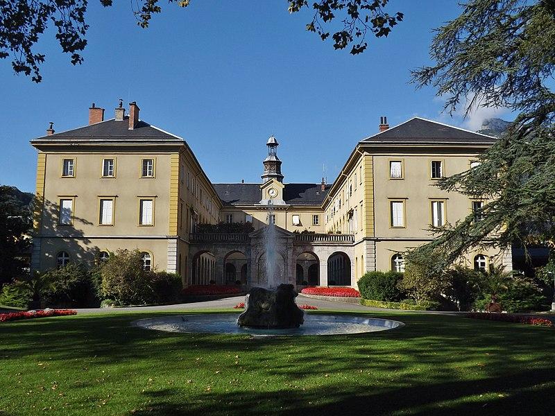 Photo du Monument Historique Centre hospitalier specialisé situé à Bassens