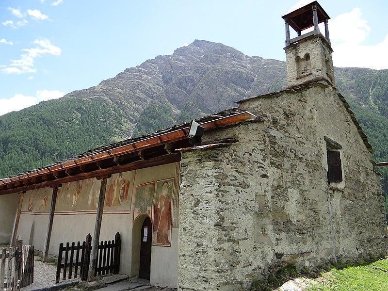 Photo du Monument Historique Chapelle Saint-Antoine situé à Bessans