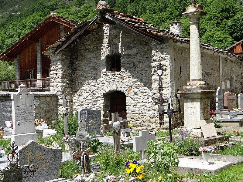 Photo du Monument Historique Chapelle Saint-Antoine situé à Bonneval-sur-Arc