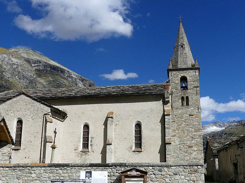 Photo du Monument Historique Eglise situé à Bonneval-sur-Arc