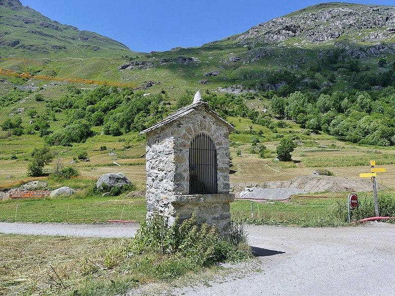 Photo du Monument Historique Oratoire Saint-Gras situé à Bonneval-sur-Arc