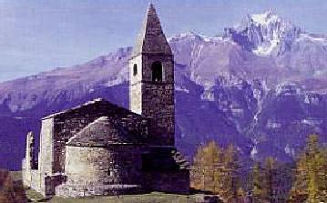 Photo du Monument Historique Eglise Saint-Pierre d'Extravache (ruines) situé à Bramans