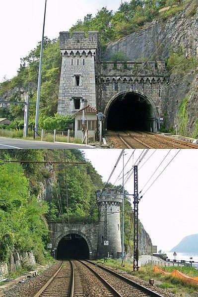 Photo du Monument Historique Tunnel de Brison situé à Brison-Saint-Innocent
