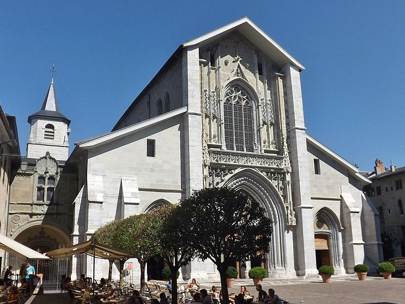 Photo du Monument Historique Cathédrale Saint-François de Sales situé à Chambéry