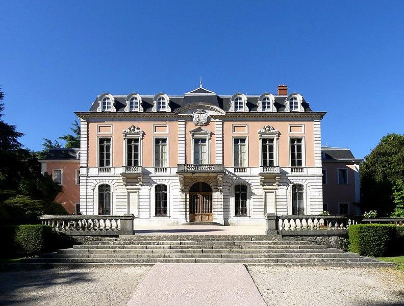 Photo du Monument Historique Château de Buisson Rond situé à Chambéry