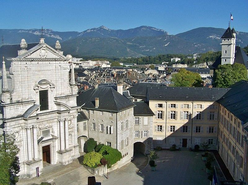 Photo du Monument Historique Château des Ducs de Savoie situé à Chambéry