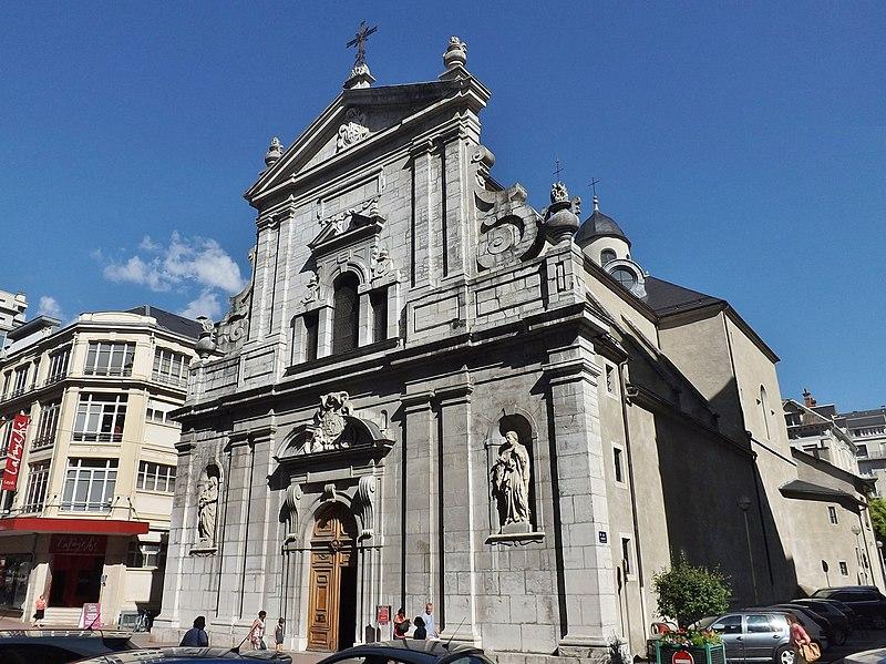 Photo du Monument Historique Eglise Notre-Dame situé à Chambéry