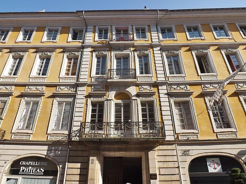 Photo du Monument Historique Hôtel des Marches situé à Chambéry
