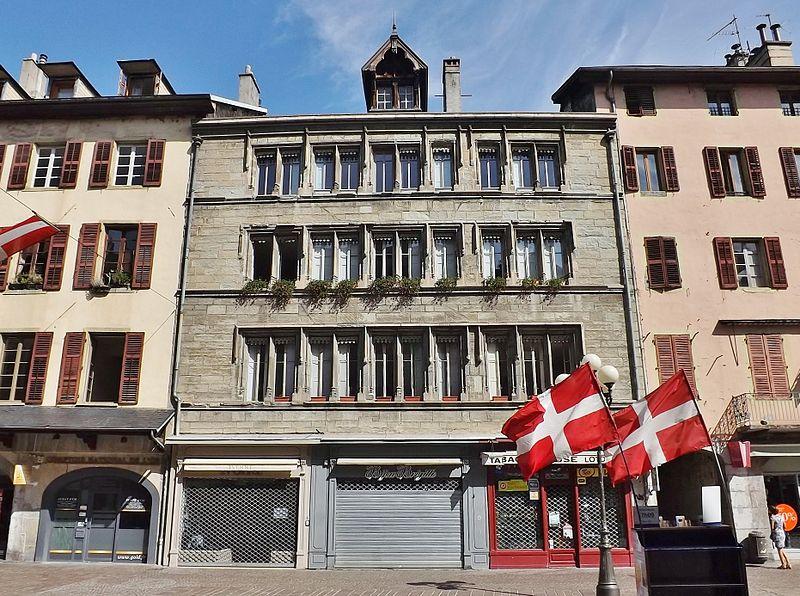Photo du Monument Historique Immeuble situé à Chambéry