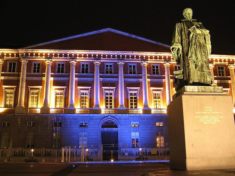Photo du Monument Historique Palais de Justice situé à Chambéry