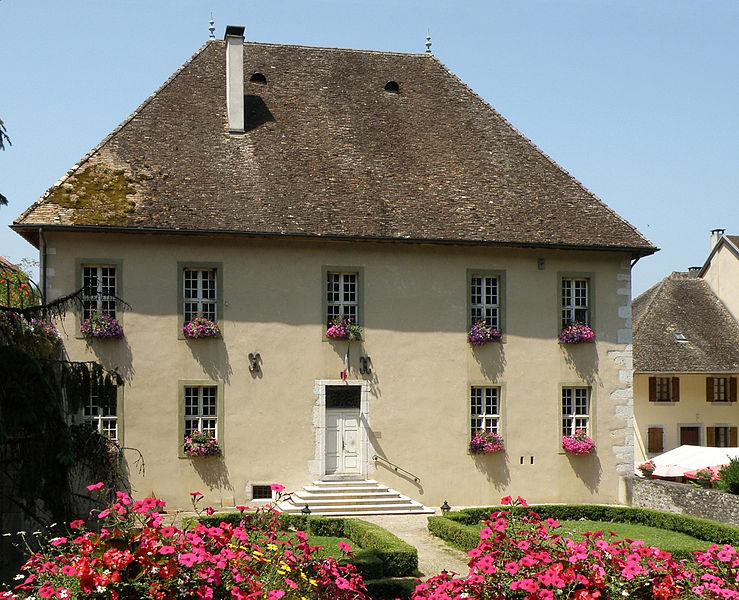 Photo du Monument Historique Maison de Boigne situé à Chanaz