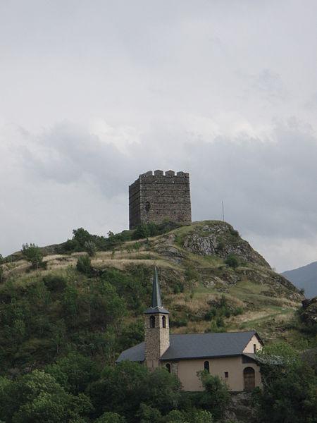 Photo du Monument Historique Tour du Châtel situé à Le Châtel
