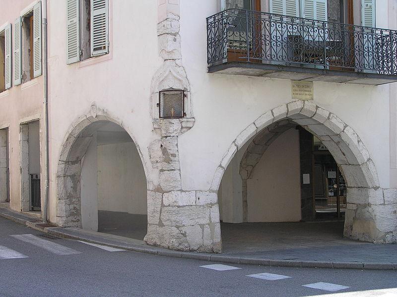 Photo du Monument Historique Maison situé à Les Echelles