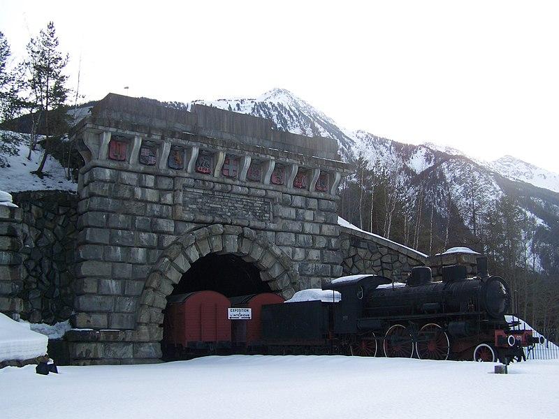 Photo du Monument Historique Tunnel du Mont-Fréjus situé à Fourneaux