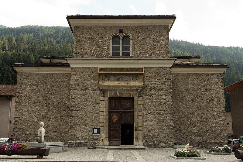Photo du Monument Historique Eglise Notre-Dame de l'Assomption situé à Lanslebourg-Mont-Cenis