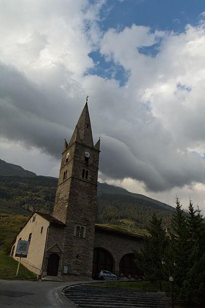 Photo du Monument Historique Eglise situé à Lanslebourg-Mont-Cenis