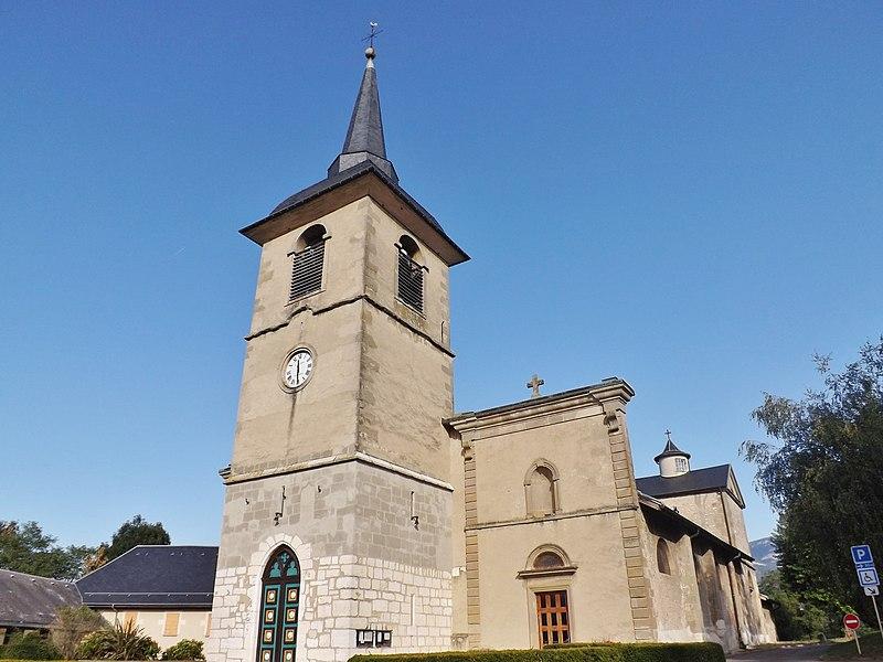 Photo du Monument Historique Eglise situé à La Motte-Servolex