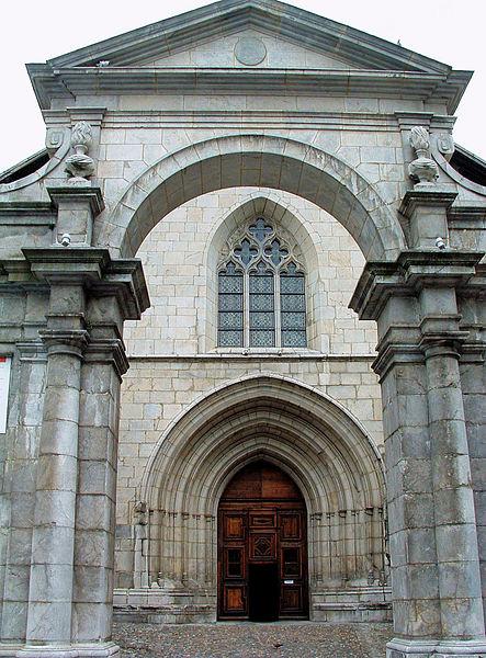 Photo du Monument Historique Cathédrale Saint-Pierre de Moûtiers situé à Moûtiers