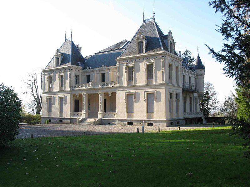 Photo du Monument Historique Château de Saint-Béron situé à Saint-Béron